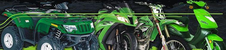 Náhradné diely a doplnky pre motorky a štvorkolky